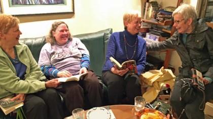 Bookclub at Diane's web size