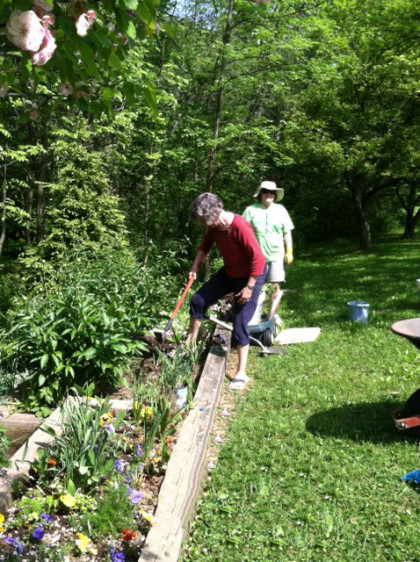 garden workers